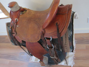 McCall Western Saddle Northwest Wade w/ Matching roughout Breastcollar