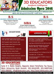 3D Educators Now Offers Masters and Bachlors Degree Programs