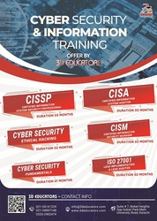 Cyber Security and Information Training Offerd by 3D Educators