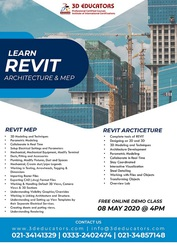Learn Revit Architecture And MEP With Live Online Classes - 3D Educato