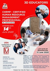 CHRMP - CERTIFIED HUMAN RESOURCE MANAGEMENT PROFESSIONAL TRAINING VIA