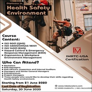 Diploma in Health Safety Environment