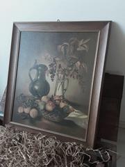 Vintage Oil Painting ,  MIH2WS276 ,  Daniel Schar ,  1950